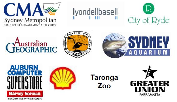 Sponsors of the 2009 Urban Nature Photography Competition